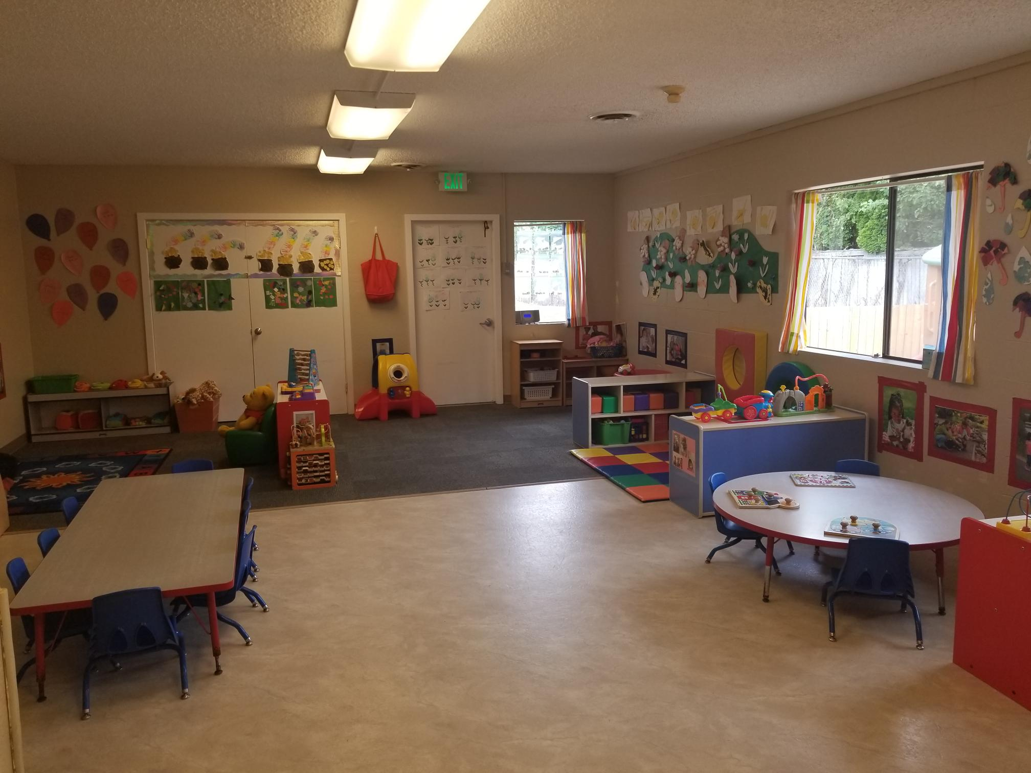 Toddler room - Shooting Star Preschool and Childcare